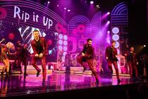 Photograph from Rip it Up the 60s - lighting design by Little-Leigh