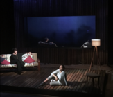 Photograph from Love Lies Bleeding - lighting design by Azusa Ono