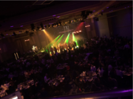 Photograph from Ernst & Young Awards Night - lighting design by Charlie Flick