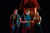 Photograph from Three Men in a Boat - lighting design by Alan Mooney