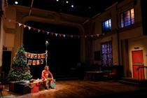 Photograph from Snowflake - lighting design by Jessica Hung Han Yun