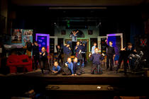 Photograph from School of Rock (Schools Edition) - lighting design by Alex Cann