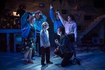 Photograph from Son of Rambow (Workshop) - lighting design by Joshua Gadsby