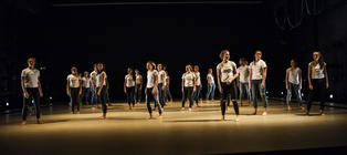 """Photograph from """"We are..."""" - lighting design by KJohnson"""