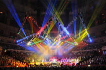 Photograph from Classical Spectacular - lighting design by Durham Marenghi
