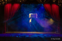 Photograph from The Illusionists 1903 - lighting design by Paul Smith