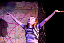 Photograph from Instructions for a Teenage Armageddon - lighting design by hjellis93