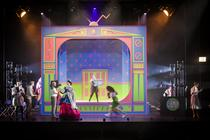 Photograph from The Princess and the Pea - lighting design by Peter Darby