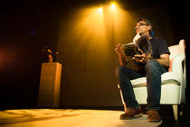 Photograph from The Retold Ramayana - lighting design by John Castle