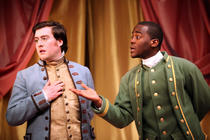 Photograph from The Rivals - lighting design by Katharine Williams