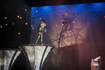 Photograph from The Sleeping Beauty - lighting design by Peter Darby