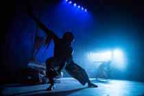 Photograph from The Tempest - lighting design by Charlie Morgan Jones