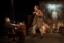 Photograph from Fear & Misery of The Third Reich - lighting design by Jack Weir