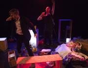 Photograph from This Much (or an Act of Violence Towards the Institution of Marriage) - lighting design by Matthew Leventhall