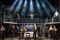Photograph from Titanic - The Musical - lighting design by Matthew Clutterham