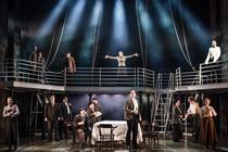 Photograph from Titanic - The Musical - lighting design by Matthew Clutterham