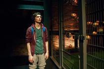 Photograph from The Selfish Giant - lighting design by Jess Bernberg