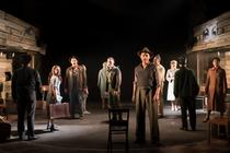 Photograph from Violet: The Musical - lighting design by Matthew Clutterham