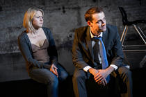 Photograph from You Can Still Make A Killing - lighting design by Chloe Kenward
