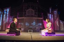 Photograph from Bright Lights Big City - lighting design by Jamila