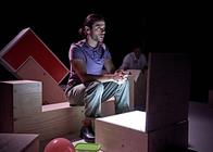 Photograph from The Terrible Things I've Done - lighting design by Katy Morison