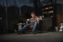 Photograph from The Lonesome West - lighting design by James McFetridge