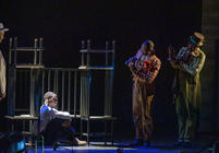 Photograph from The Scottsboro Boys - lighting design by Wally Eastland