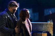 Photograph from La Boheme - lighting design by Charlie Morgan Jones