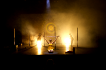 Photograph from Sulphur - lighting design by Marty Langthorne