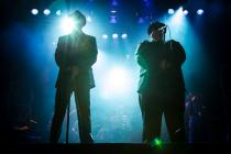 Photograph from The Blues Brothers - lighting design by Charlie Morgan Jones