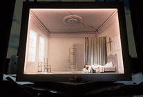 Photograph from Der Freischuetz - lighting design by Michael Grundner