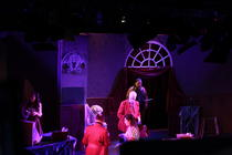 Photograph from The Hotel Of Countess Dracula - lighting design by HeleneSmithLx