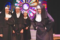 Photograph from Sister Act the Musical - lighting design by EllieBookham