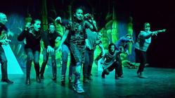Photograph from Aladdin - lighting design by Ant-Lux