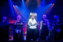 Photograph from Beauty and the Beast - lighting design by John Castle