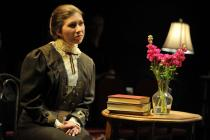 Photograph from Blue Stockings - lighting design by James Price