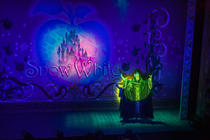 Photograph from Snow White - lighting design by Rachel Cleary