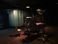 Photograph from Virtually Dead - lighting design by Seb Blaber