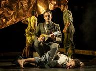 Photograph from Captain Corelli's Mandolin - lighting design by Malcolm Rippeth