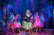 Photograph from Cinderella - lighting design by Matthew Clutterham
