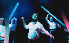 Photograph from Peer Gynt - lighting design by Edward Saunders