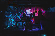 Photograph from Rhinoceros - lighting design by Edward Saunders