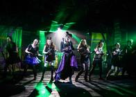 Photograph from Dick Whittington - lighting design by Joseph Ed Thomas