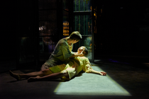 Photograph from War is my Condition - lighting design by Edward Saunders