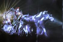 Photograph from Cinderella - lighting design by Matthew Clutterham