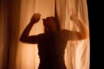 Photograph from FOUND - lighting design by Louise Gregory