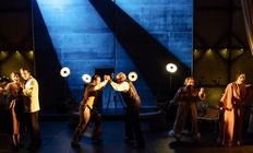 Photograph from La Cenerentola - lighting design by Charlie Morgan Jones