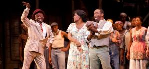 Photograph from Show Boat - lighting design by Michael Grundner