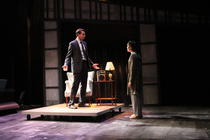 Photograph from ANGELS IN AMERICA: MILLENNIUM APPROACHES - lighting design by Wally Eastland