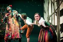 Photograph from Hansel & Gretel 2017 / 2018 Season - lighting design by Peter Darby
